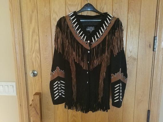 Women's XXL Leather Gallery Western Cowboy Cowgirl