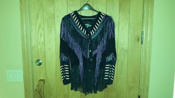 Fabulous Women's Purple Leather Gallery Western Co