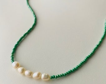 Necklace - Ketting - Pearl - Gift - Christmas
