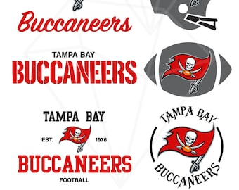 Tampa Bay Buccaneers Colors Svg Eps Dxf Png Commercial Use Etsy