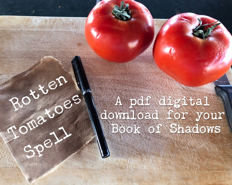 Rotten Tomatoes pdf spell - a karmic nudge