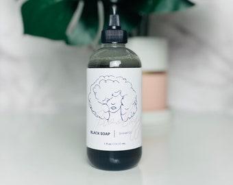 Black Soap Shampoo| Hydrating