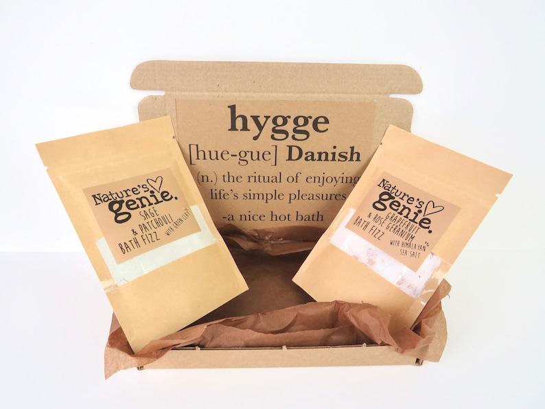 Hygge Self Care Gift Box Hygge Definition Bath Gift set Care image 0