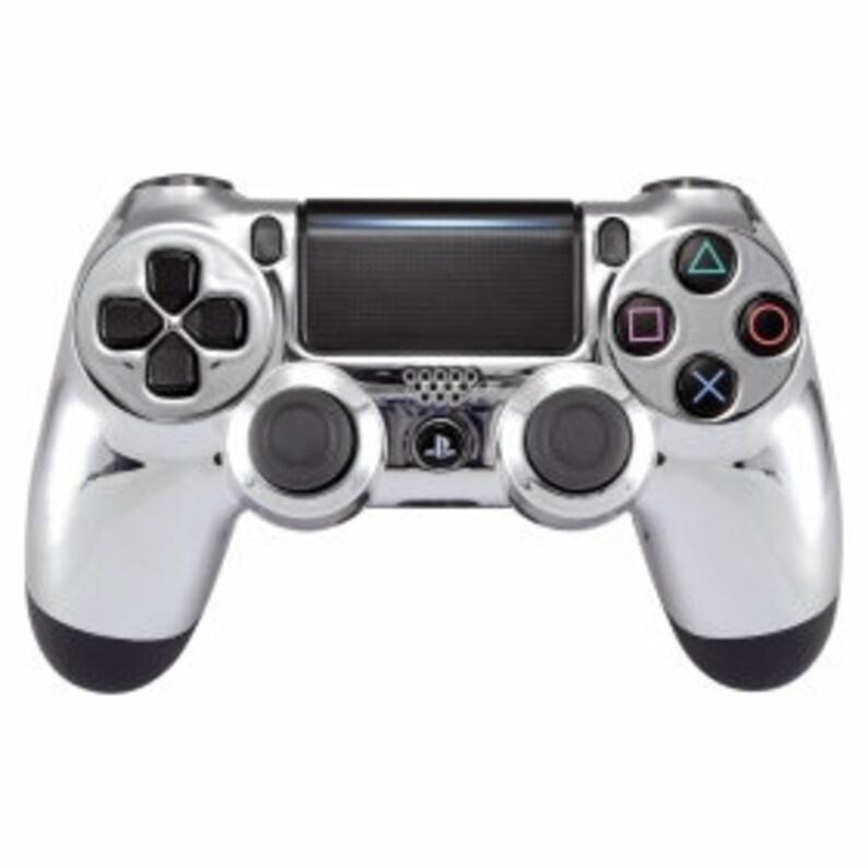 ChromeSilver PS4 Controller
