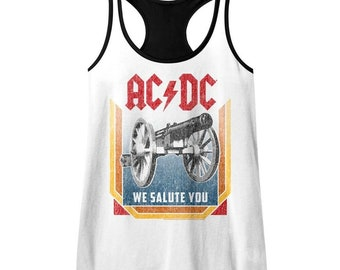 AC//DC Womens Live at River Plate Columbia Records Tank Top