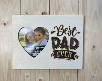 Gift for Dad Father/'s Day Golf Wood Burned Dad Jokes WOODEN PICTURE FRAME