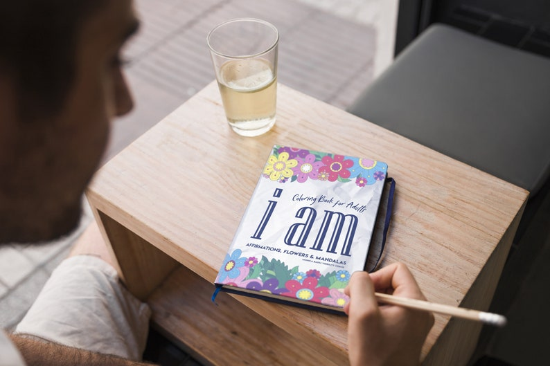 I AM Coloring Book for Adults Who Want Personal Growth: image 0
