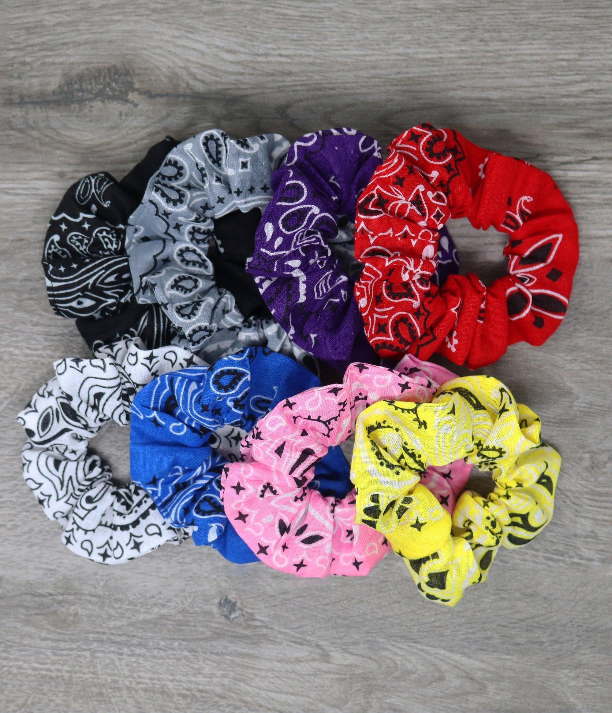 90s Hair Scrunchies June Trio Top Knot Scrunchies June Hair Tie