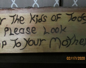 SM-LR149 For The Mothers Handmade Plaques
