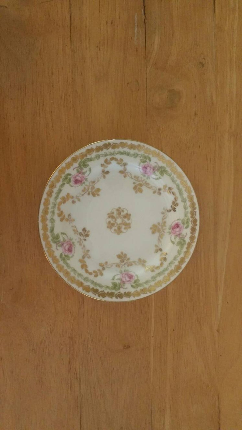 Limoge Bread Plate Haviland France 6 14