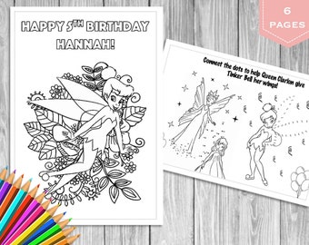 Tinkerbell coloring pages | Free Coloring Pages | 270x340