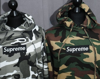 005d833cad7ef SUPREME CAMO HOODIE Embroidered 6