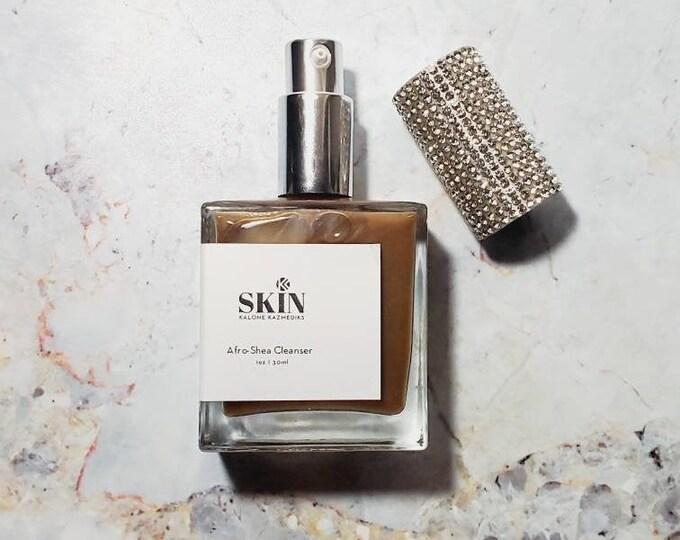 Peppermint Liquid African Black Soap Acne Cleanser