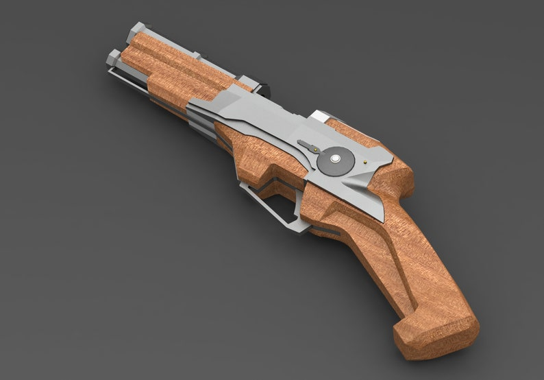 3D Printed Prop Dishonored Pistol