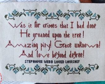 2021 Love Beyond Degree Lindy Stitches - chart
