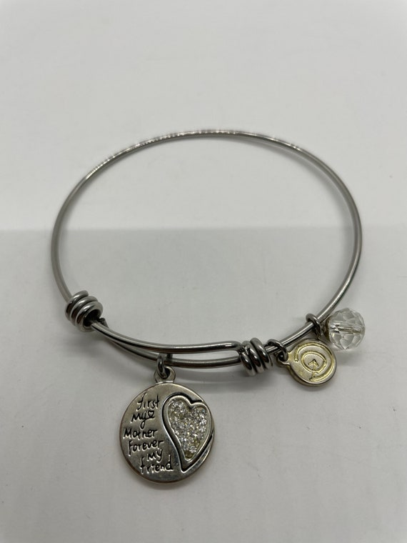 First my mother forever my friend bracelet