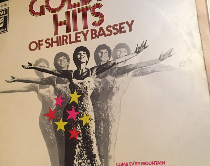 Golden Hits of Shirley Bassey Vinyl LP
