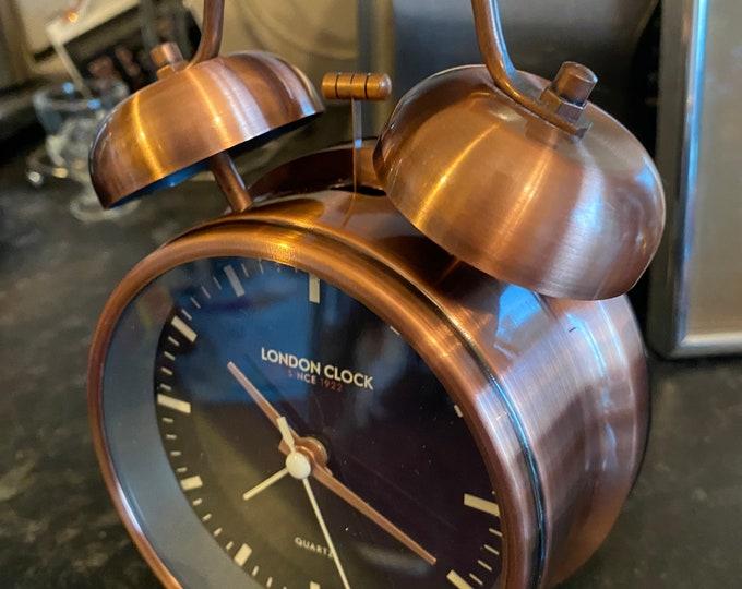 London Domed Bell Alarm Clock