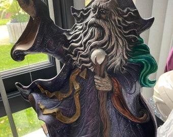 Merlin figurine
