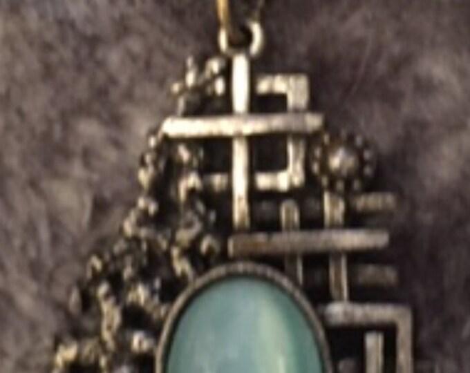 Art Deco Industrial Necklace