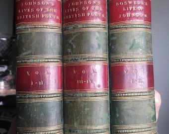 Boswells Life of Johnson Books