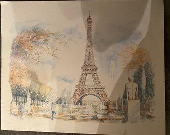 Eiffel Tower by Legai