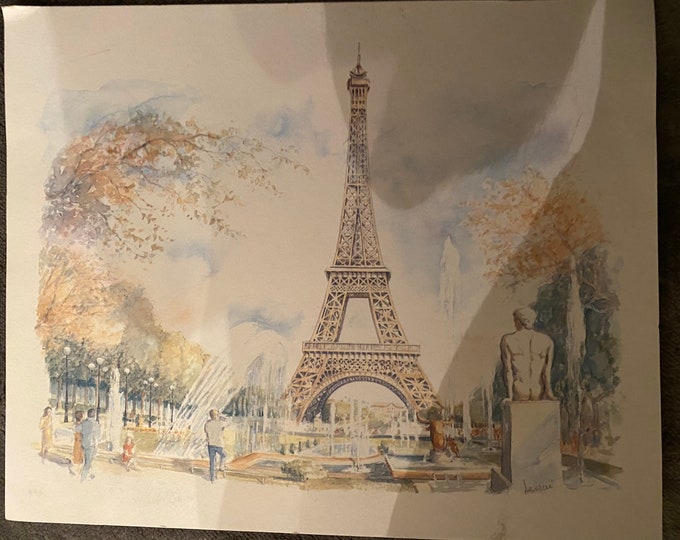 Eiffel Tower by Legai