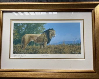 Stephen Gayford - His Lordship Limited Edition Print