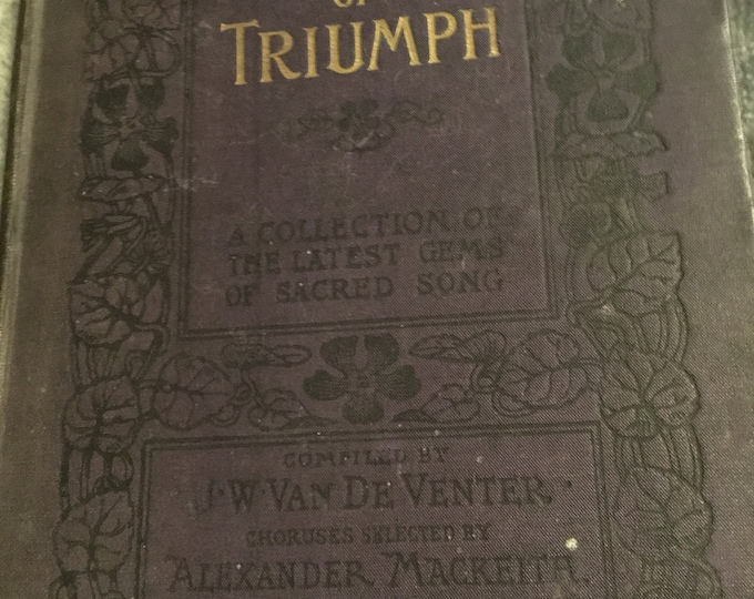 Songs of Triumph book by Venter