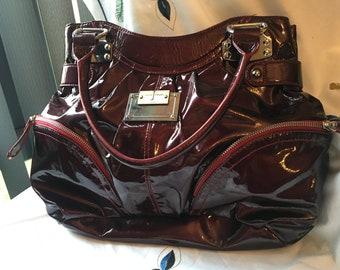 Jasper Conran Jeans Burgundy Bag