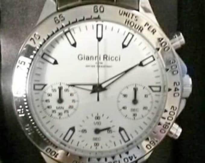 MENS Gianni Ricci Chronograph Watch