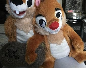 Walt Disney Chip and Dale Best Friends Stuffed Toy