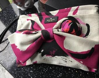 Karen Spade New Summer Fabric Clutch Bag