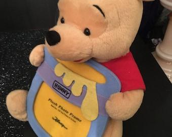 Winnie The Pooh Stuffed Bear and Frame