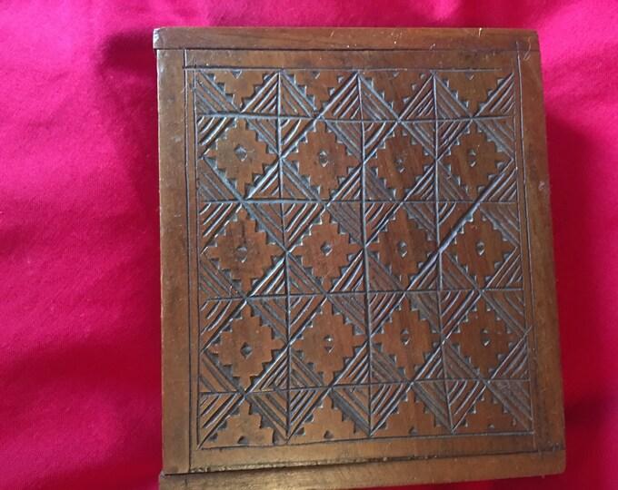 Checkerboard Trinket Box