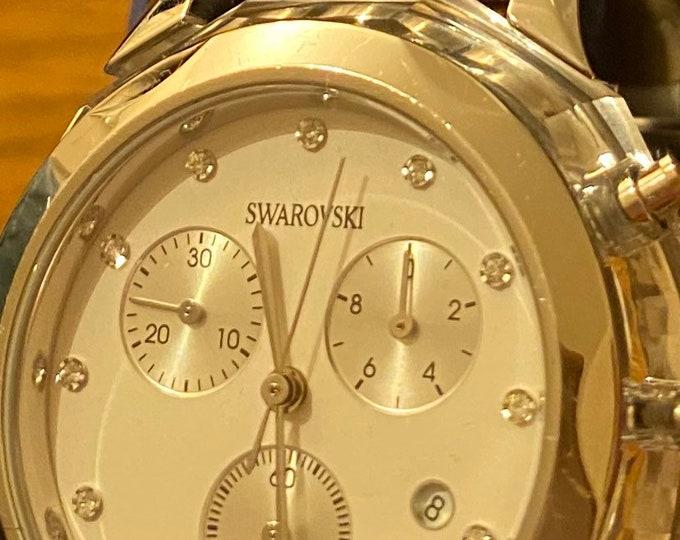 Swarovski Crystal Watch Chronological