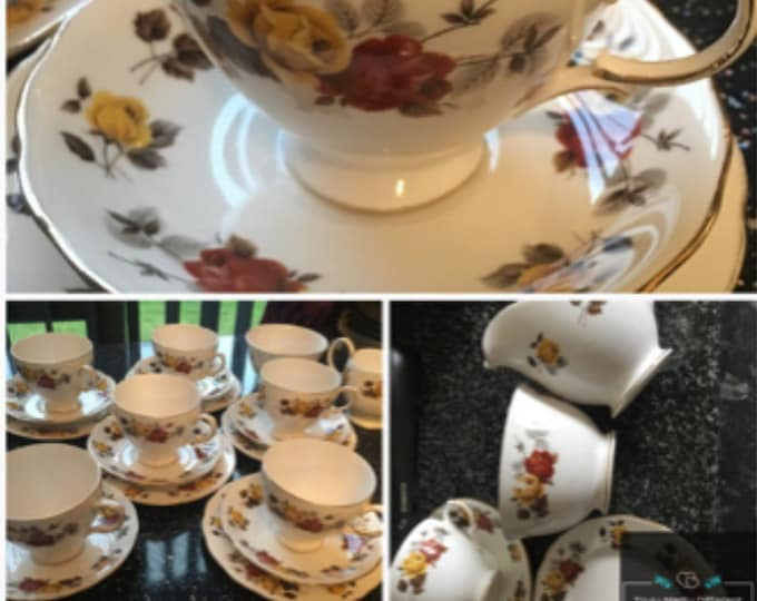 Colclough Trio cup plate saucer