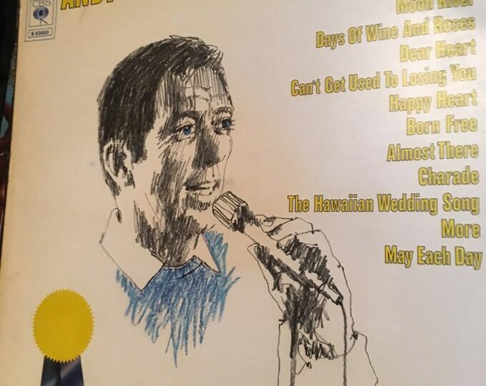 Andy Williams Greatest Hits Vinyl LP