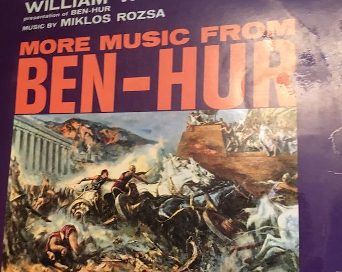 More music from Ben Hur Vinyl LP