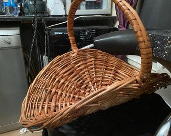 Large Wicker Flower Basket