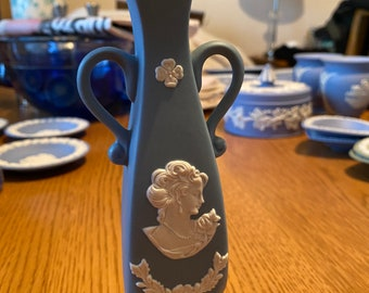 Wedgwood Jasperware Style vase