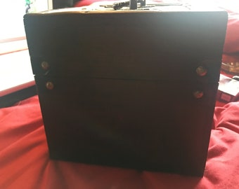Wooden Lattice Chest Jewellery Box