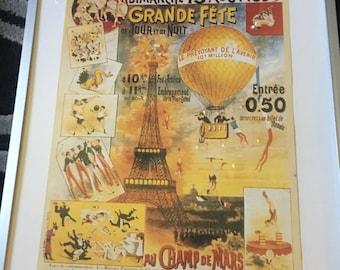 Paris Posters Framed