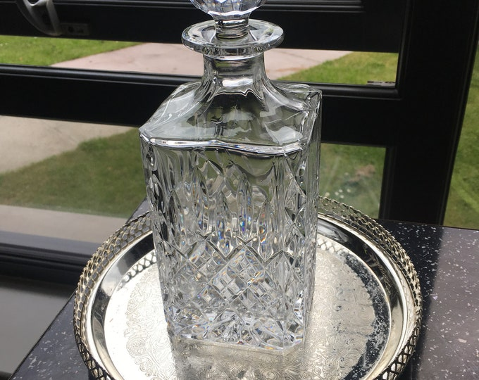 Crystal Whisky Decanter Square