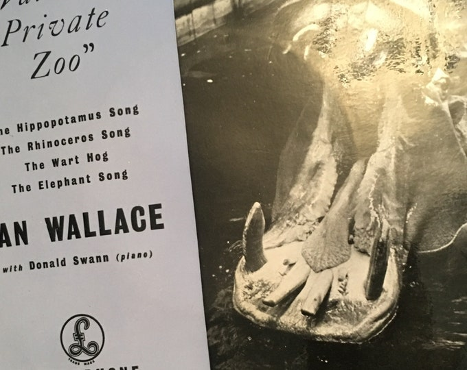 """Wallace's Private Zoo Ian Wallace 7"""" Vinyl"""