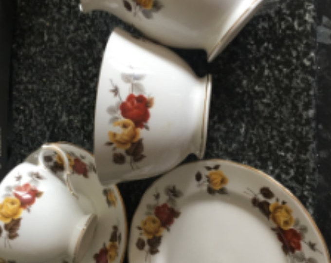 Colclough tea cup saucer and plate