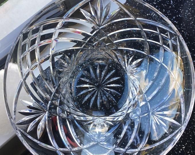 Large Cut Crystal Bowl