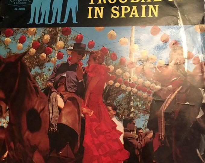Troubadours in Spain Vinyl LP