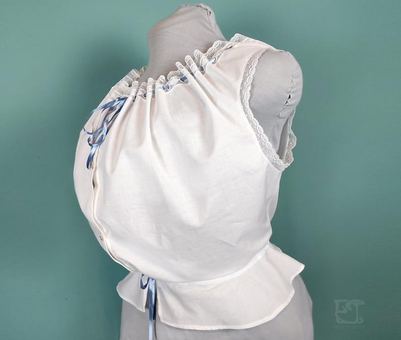 Vintage Lingerie   New Underwear, Bras, Slips Edwardian Corset Cover M/L $159.54 AT vintagedancer.com