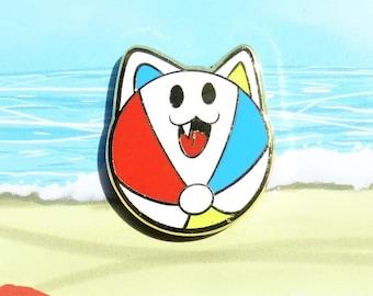 Beachball Cat Enamel Pin